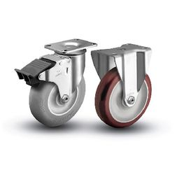 CASTER AND WHEELS