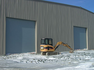 Rolling Insulated Service Doors